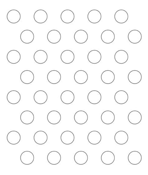 printable paper with circles piping guide print copy and enlarge on copy machine to 1