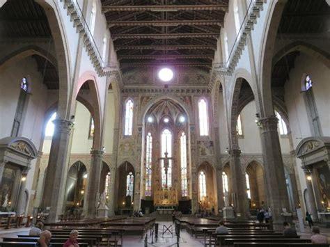santa croce interno 内部 picture of basilica di santa croce florence