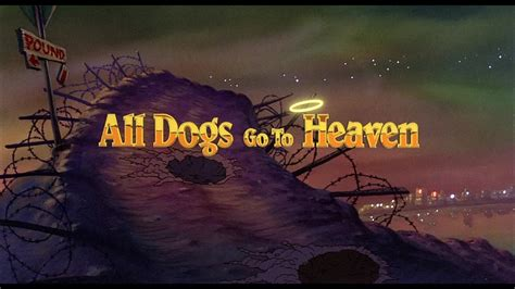 all dogs go to heaven infos sur