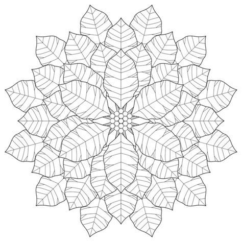 snowflake design coloring page herbst mandalas f 252 r kinder zum ausdrucken und ausmalen