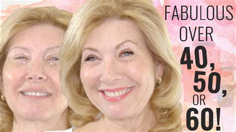 make overs of women over 50 fabulous makeup for women over 50 youtube