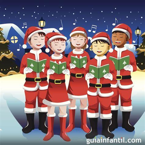 imagenes de navidad niños pin coro de villancicos dibujo para que los ni 195 177 os pinten