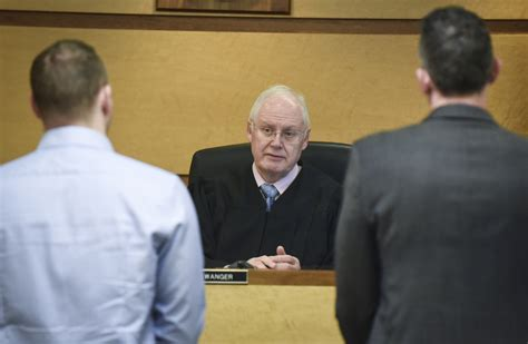 Clark County Justice Court Records Judge Swanger S Swan Song The Columbian