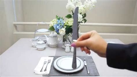 setting videos how to set a formal table setting by noritake australia