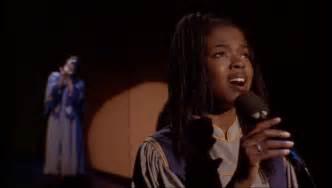 lauryn hill gospel sister act 2 finale lauryn hill joyful joyful with