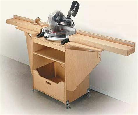 woodworking miter saw compound miter saw cabinet 3 woodworking ideas