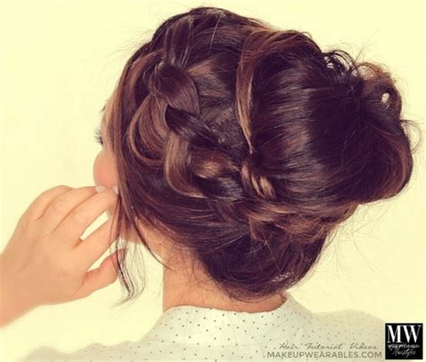 homecoming hairstyles messy bun 20 beautiful hairstyles for prom styles weekly