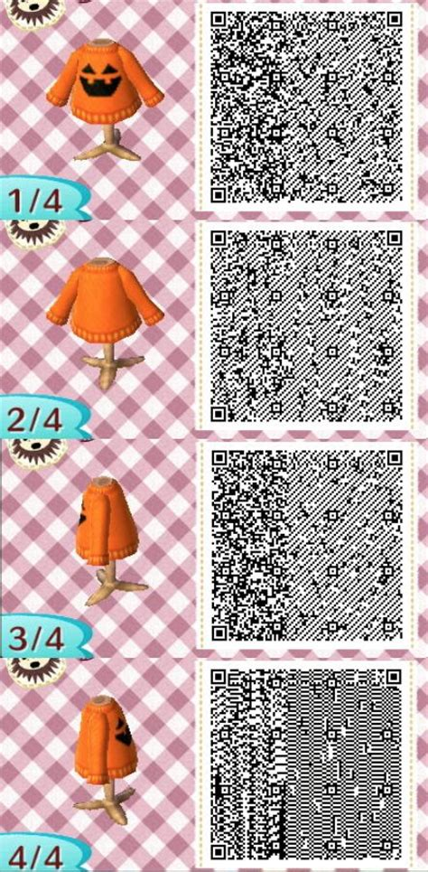 acnl how long does it take for shoodle to build halloween sweater animal crossing new leaf qr codes