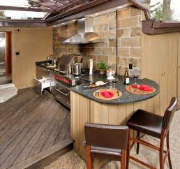 Outdoor Kitchen Design by Upgrade Your Backyard With An Outdoor Kitchen