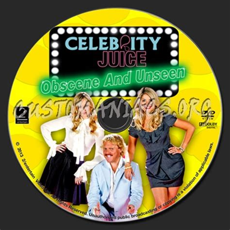 celebrity juice unseen celebrity juice obscene and unseen dvd label dvd