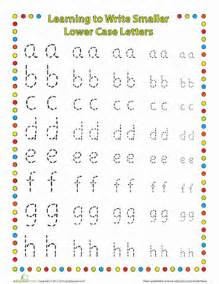 small letters lower worksheet education