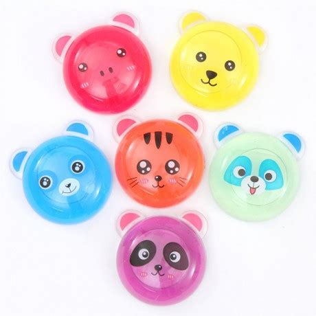 Squishy Donat Gerigi Coklat random colorful slime with cat animal mud clay jelly diy squishy shop