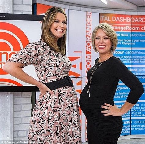 when i savannah due second baby savannah guthrie reveals she is having a baby boy live on