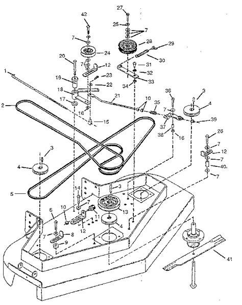yardman lawn mower belt diagram size