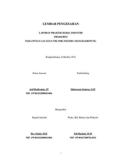 contoh laporan contoh laporan prakerin review ebooks