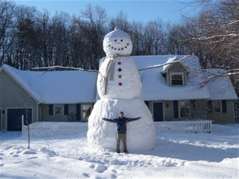 largest snowmen ever built