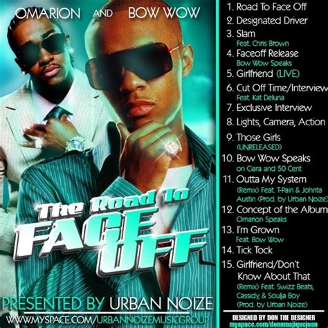 o free mp download omarion bow wow omarion the road to faceoff hosted by urban
