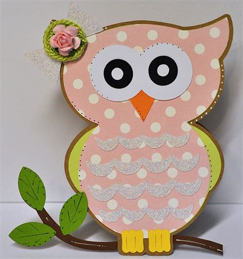 owl birthday card template the cutting cafe owl shaped card set template