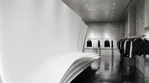 neil barrett flagship store  zaha hadid architects