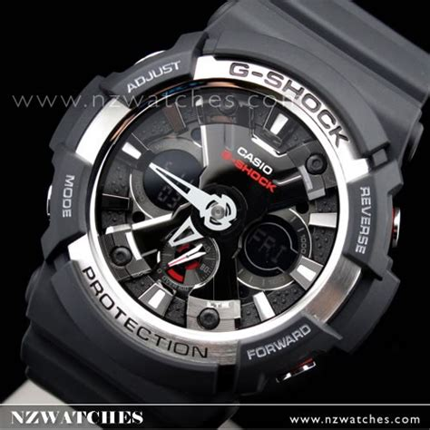 Casio G Shock Ga 200 Blw buy casio g shock analog digital black world time ga