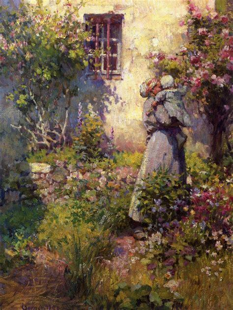 robert garden the athenaeum peasant s garden robert vonnoh