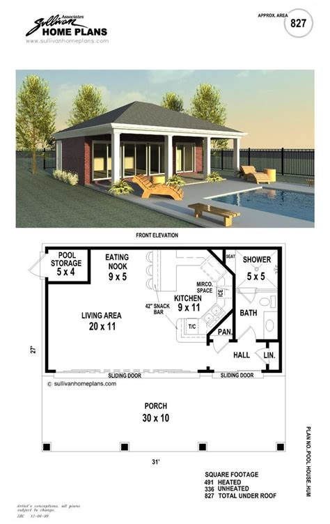 cabana house plans best 20 pool house plans ideas on pinterest
