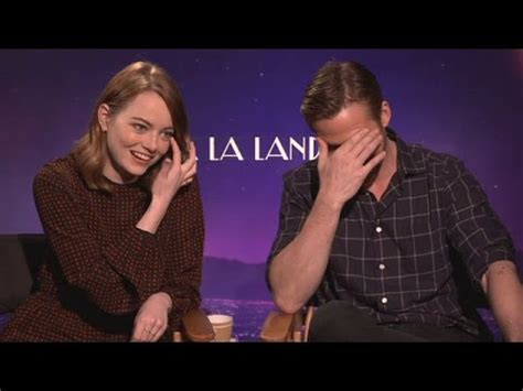 emma stone ryan gosling interview emma stone and ryan gosling interview youtube