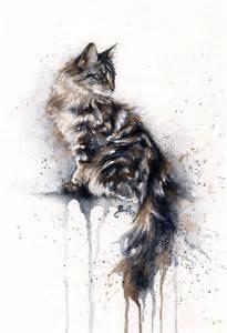 water color cat watercolor cat portrait image 2681413 by lauralai on