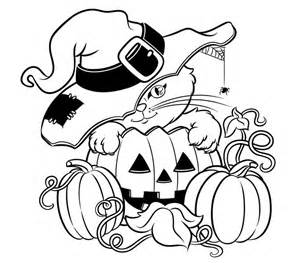 girly halloween coloring pages festival collections
