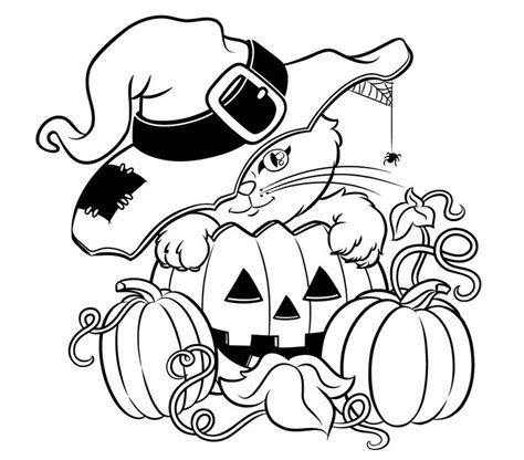 Girly Halloween Coloring Pages | girly halloween coloring pages festival collections