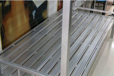 Ranjang Lantai shanghai pabrik dijual murah besi 2 lantai murah ranjang susun logam ranjang id produk