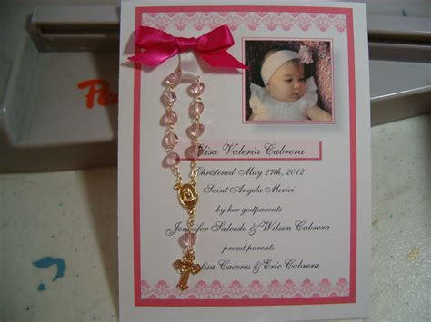 Christening Giveaways - 20 baptism favors rosary card