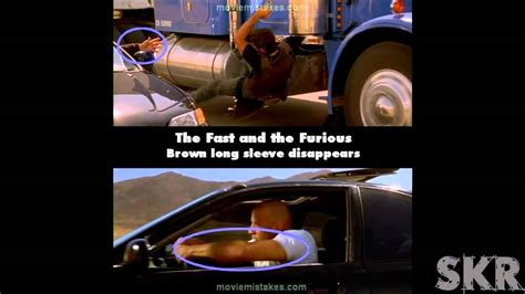 fast and furious mistakes movie mistakes the fast and the furious 2001 youtube