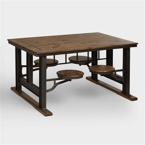 World Market Kitchen Table by Galvin Cafeteria Table World Market