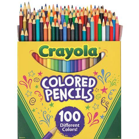 crayola colored pencils 100 crayola colored pencils 100 color set