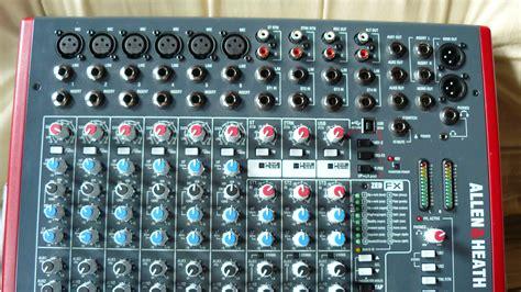 Mixer Allen Heath Zed 12fx allen heath zed 12fx image 700585 audiofanzine