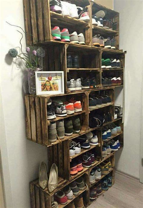 cheap shoe storage 45 creative ideas to store your shoes shelterness