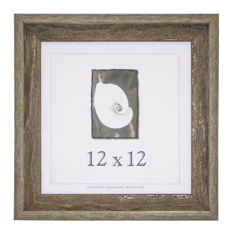 12 by 12 picture frame 12x12 appalachian barnwood picture frame w real glass ebay