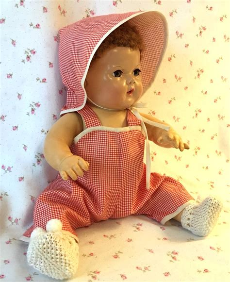 Overall Set 1 effanbee series 15 quot dy overall set 1 from dollyologyvintagedolls on ruby