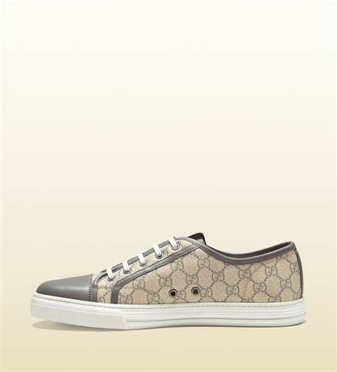 The Best Gucci Seprem 1 Gucci Gg Supreme Canvas Lace Up Sneaker In For