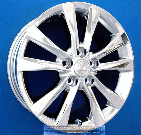 chrome lexus rims lexus es350 17 inch chrome wheel rim exchange es 350 10