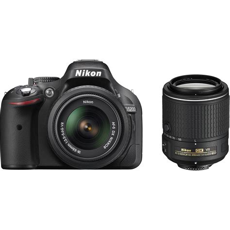 nikon d5200 nikon d5200 dslr with 18 55mm and 55 200mm lenses