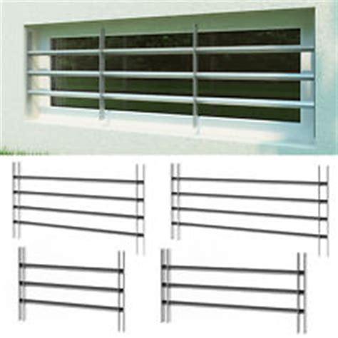 Einbruchsicherung Kellerfenster Stange by Fenstergitter Ebay