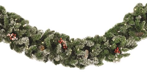 best 28 garland with lights vickerman a118314 cashmere