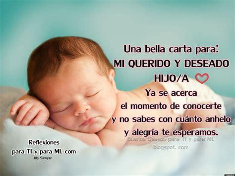 carta para el bebe danygy fotolog reflexiones para ti y para m 205 carta para mi querido