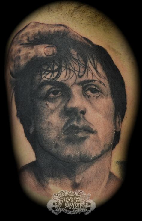 rocky tattoo rocky by state of on deviantart