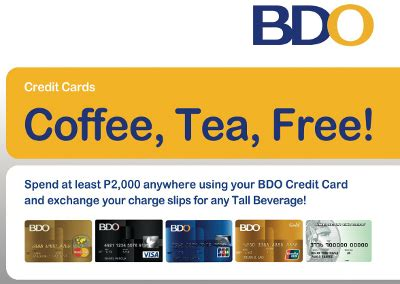 bdo credit card promo bench bo s coffee blog just roasted get a free bo s coffee