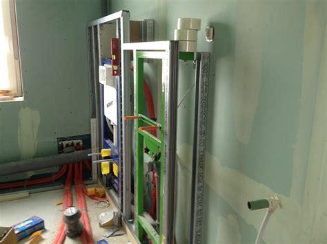 knauf installationswand knauff st 228 nderprofile nicoles und gro 223 bauprojekt