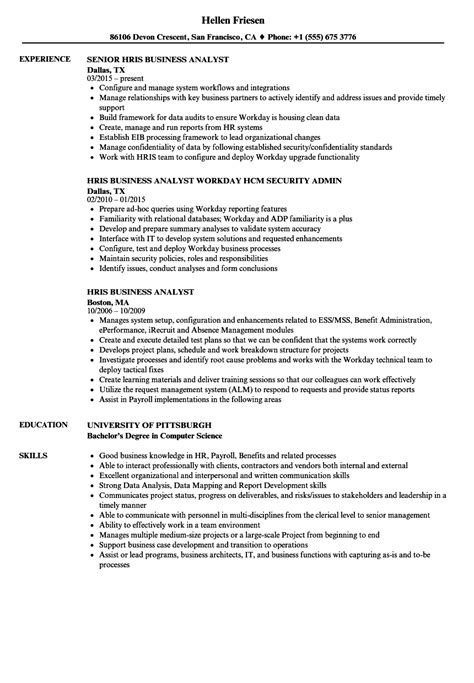 Hris Analyst Cover Letter by 91 Hris Analyst Resume Sle Generous Sle Resume For It Support Analyst Contemporary