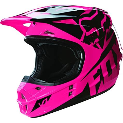 pink motocross helmet fox racing camo s v1 road motorcycle helmet